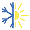 aire acondicionado estrella frio calor logo