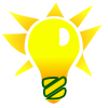 Iluminacion, logo bombilla instalaciones quilis s.l.