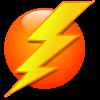 electricidad, logo rayo amarillo instalaciones quilis